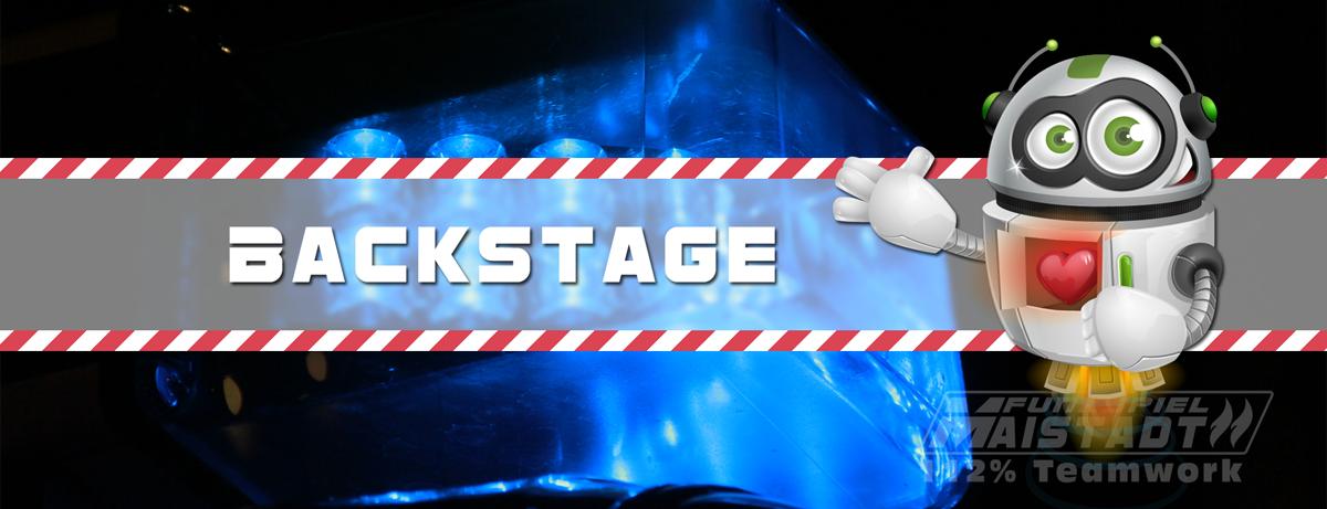 Funkspiel Maistadt - Backstage - 112% Teamwork