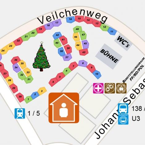 """Funkspiel Maistadt - Weihnachtsmarkt """"Rathausplatz"""""""