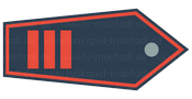 Abzeichen Hauptbrandmeister / Hauptfeuerwehrmann