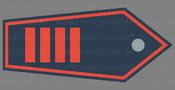 Abzeichen Hauptbrandmeister mit Amtszulage / Unterbrandmeister