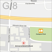 Funkspiel Stadtkarte Ausschnitt 2